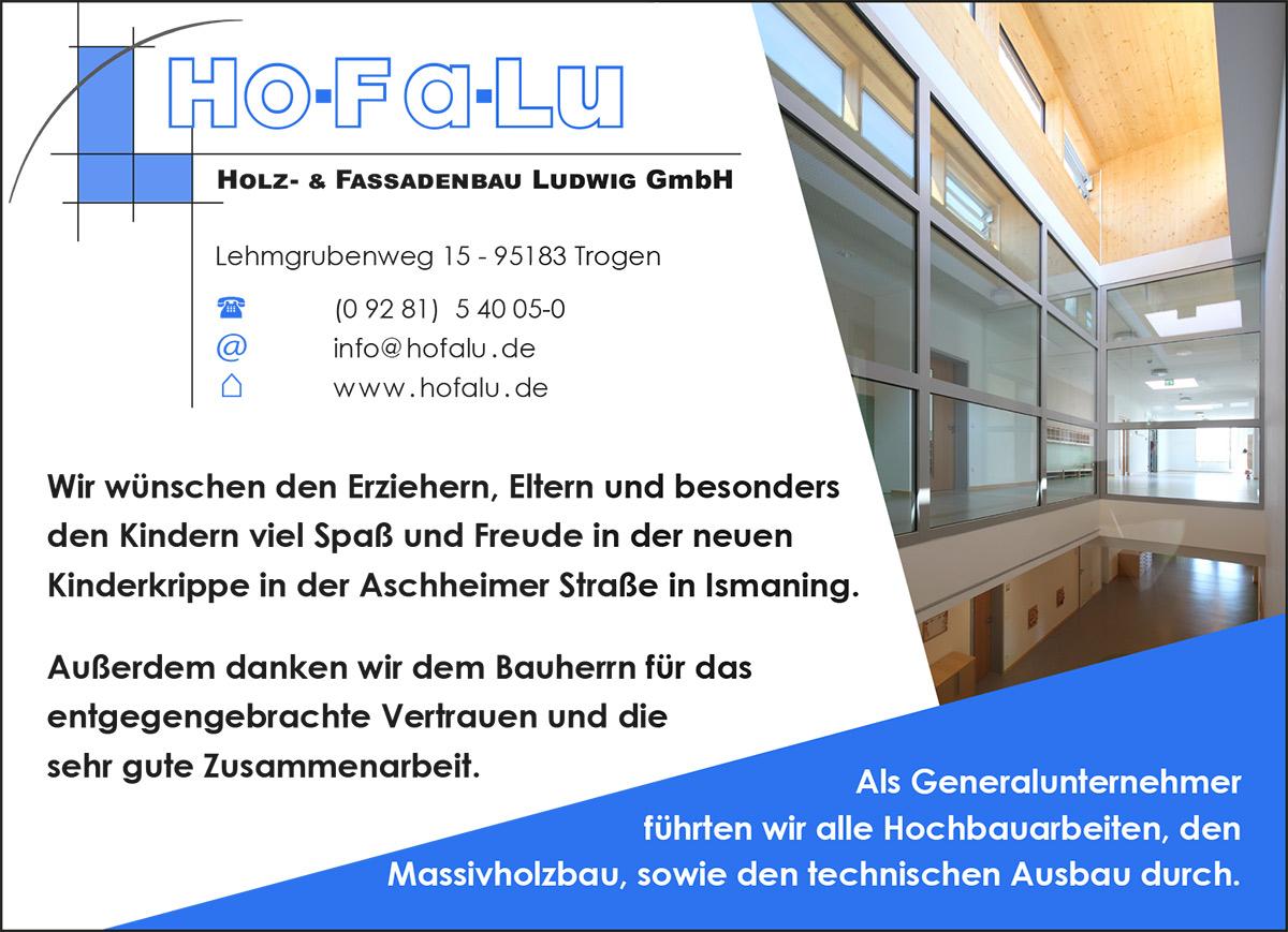 Anzeige Ismaning Aschheimer Straße